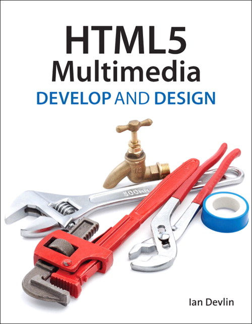 Cover of HTML5 Multimedia: Develop and Design Book